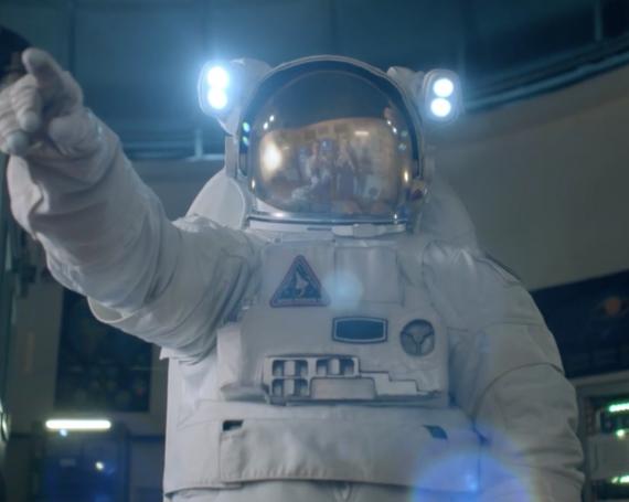 MC DONALD'S<BR>L'astronaute